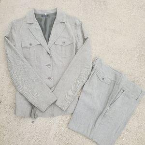 Women Global 2 Peice Pants/Blazer Suit